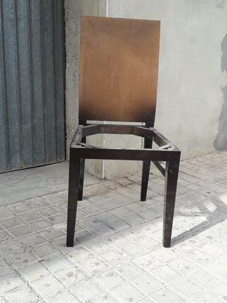 Esqueleto silla de madera