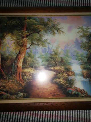 cuadro de paisaje