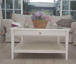 Mesa centro blanca (Ikea)