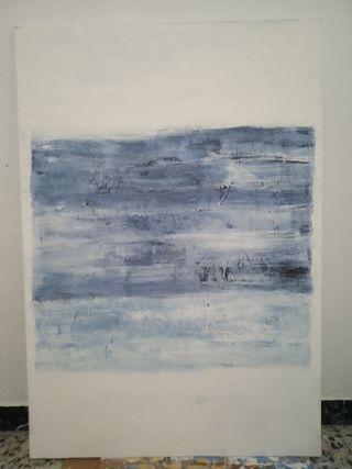 cuadro abstracto 130 x 89 cm