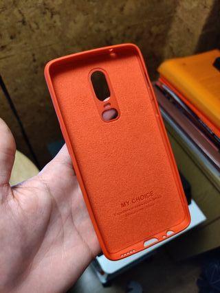 Funda de silicona OnePlus 6