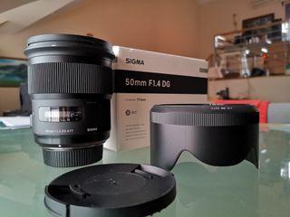 Sigma ART 50mm f1.4 Nikon