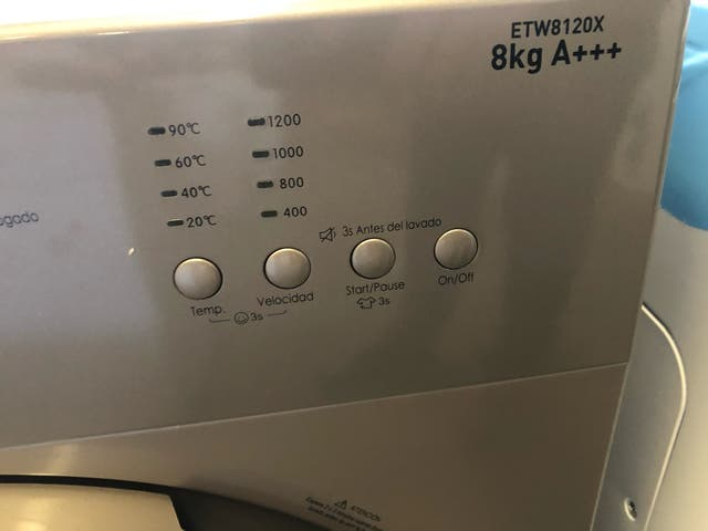 Lavadora inox 8 kilos nueva