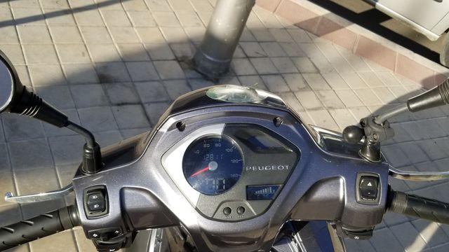 Moto Scooter Peugeot Belville Allure 125cc 2017