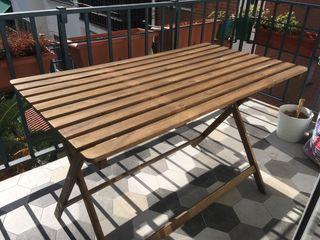 Mesa terraza madera ASKHOLMEN