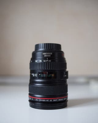 Objetivo Canon 24-105 IS USM + Regalo 2 Filtros