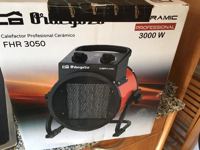 Calefactor cerámico 3000 w