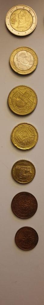 monedas serie Austria euro