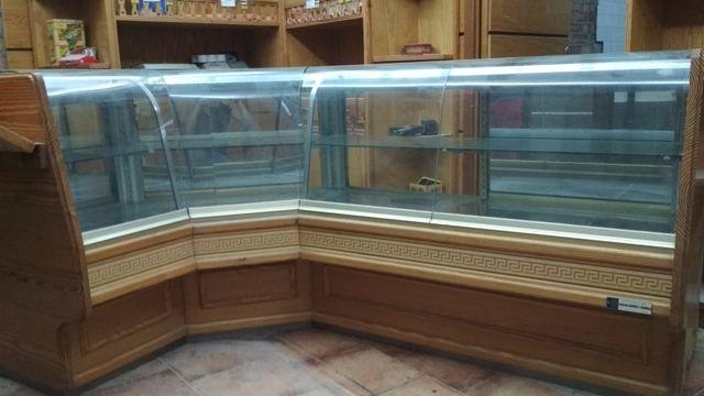 mostrador de panaderia