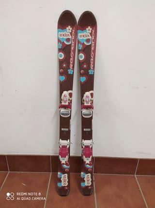 Esquís infantiles 100 cm Rossignol