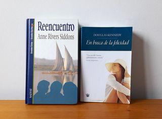 Libros varios. Novela romántica.