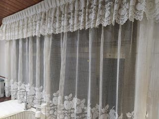cortinas de ganchillo