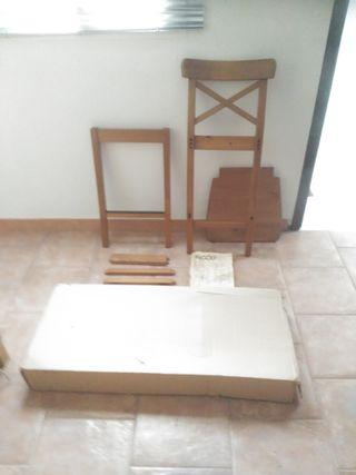 TABURETES INGOLF DE IKEA