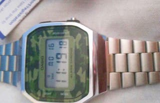 Reloj Casio original unisex camuflaje militar