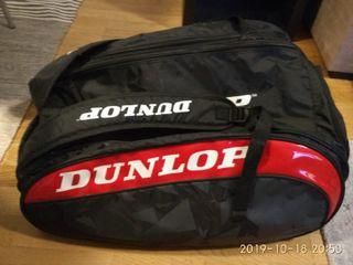 Paletero Dunlop Pro Team Rojo (Negociable)