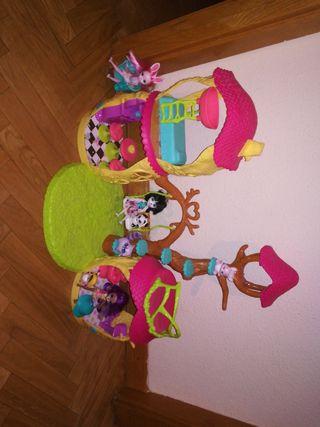 casa + muñecas Enchantimals