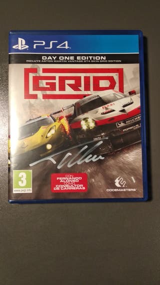 Grid PS4 - Firmado por Fernando Alonso