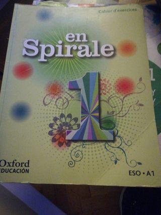 Cahier d'exercices en spirale Oxford educación