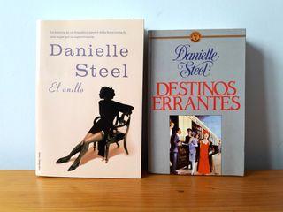 Libros de Danielle Steel. Novela romántica.