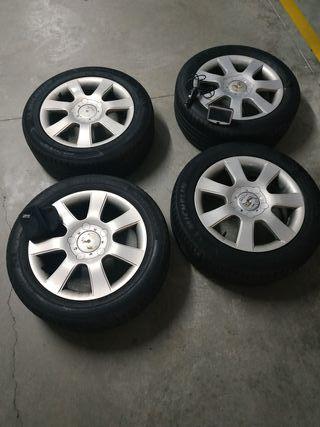 llantas +neumáticos 205/55/16