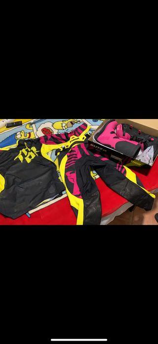 equipacion moto cross