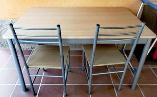 OPORTUNIDAD!!!! Mesa cocina y sillas