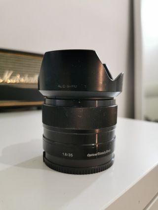 Objetivo Sony SEL35F18 35mm f/1.8 lente