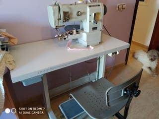 Máquina de coser para vivos