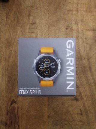 Reloj Garmin Fenix 5 Plus Zafiro con correa gratis