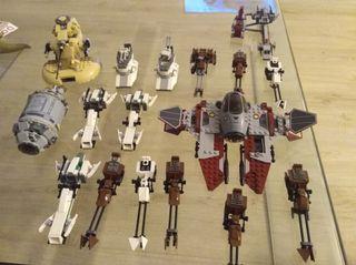 Lote de vehículos Lego Star wars
