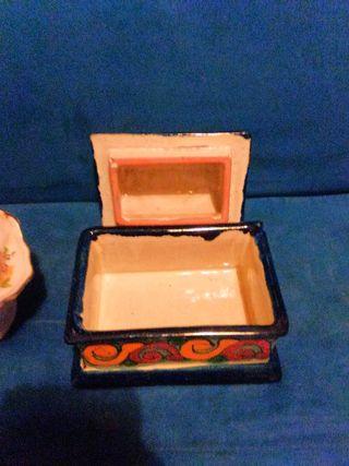 joyero ceramica mexicano