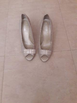 zapatos de tacon novia