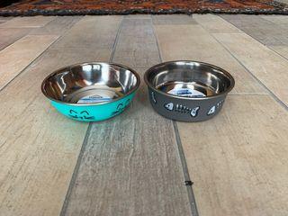 Comedero y bebedero para perro/gato