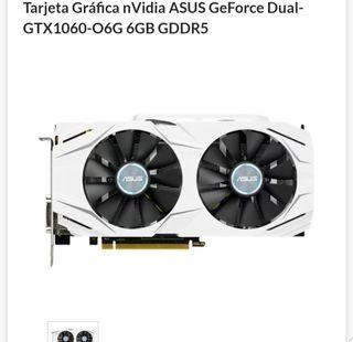 nVidia ASUS GeForce Dual-GTX1060-O6G 6GB GDDR5