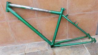 "cuadro acero bicicleta MTB 26"""