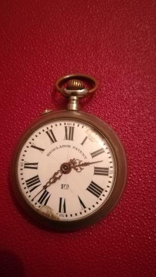 antiguo reloj de bolsillo Regulador Patent