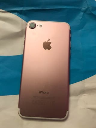 iPhone 7 128GB color ROSA casi nuevo