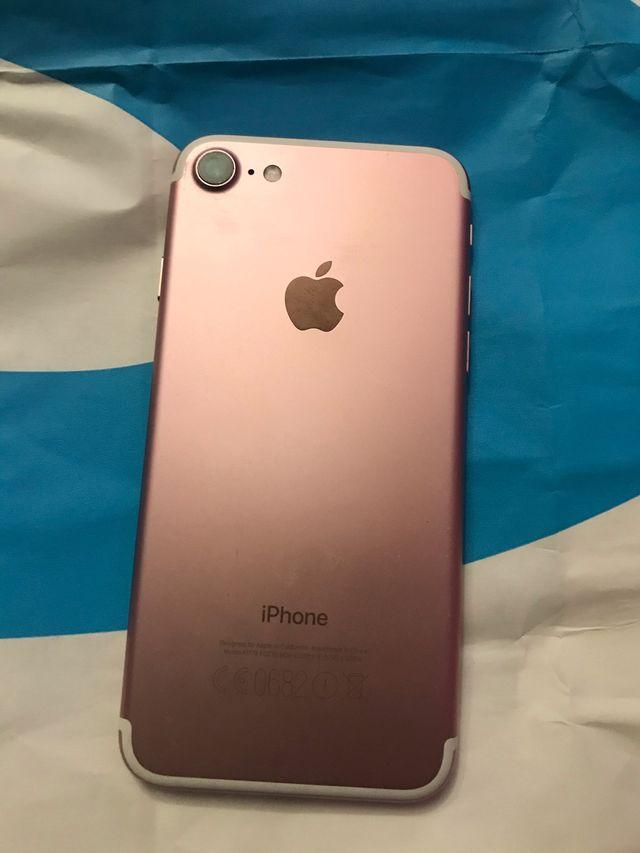 iPhone 7 128GB color ROSA casi nuevo