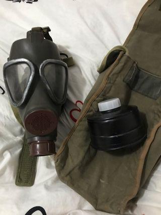 Mascara antigas guerra