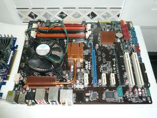 Placa asus p5q3 +intel q9550 +nvidia