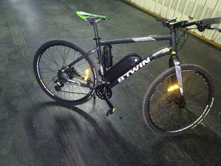 bicicleta eléctrica rockrider 520