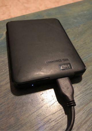 Disco duro externo WD 2 TB