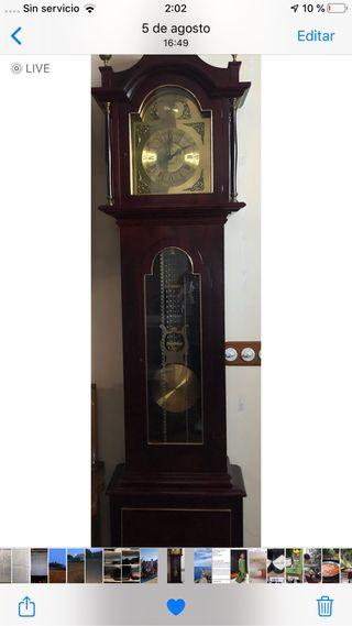 "Reloj madera pie ""Gran Ocasión"""