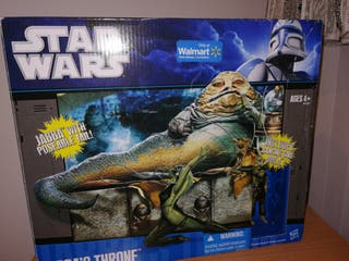 Star Wars Jabba's Throne exclusivo Walmart.