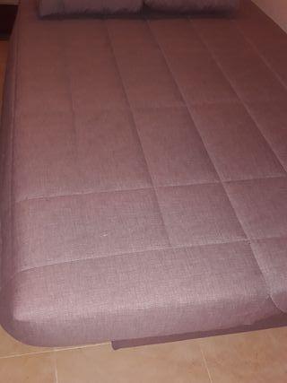 sofa cama 1,35 cm con arcón sin estrenar