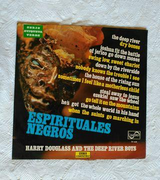 Vinilo LP Espirituales negros Harry Douglas and..