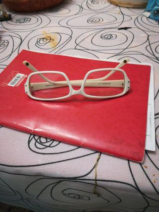 gafas blancas sin graduacion