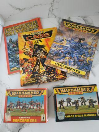 Pack Warhammer 40.000 vintage edic. 1994