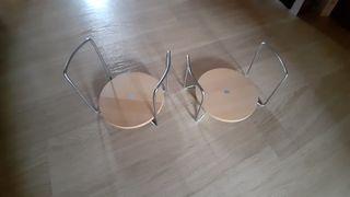 Lote de dos sujetaplatos de Ikea