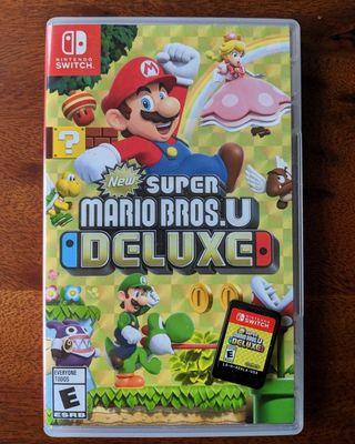 Super Mario Bros U Deluxe, para Nintendo Swicht